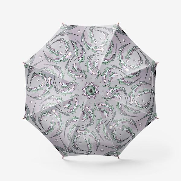Зонт «Листья дуба»