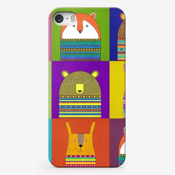 Чехол iPhone «зверики»