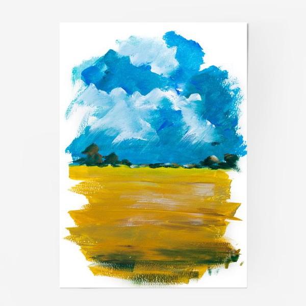Постер «Перед дождем»