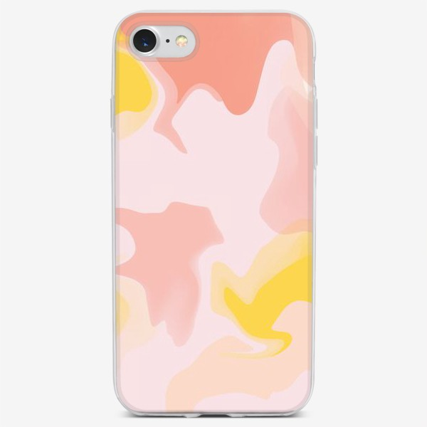 Чехол iPhone «Абстракция лава»