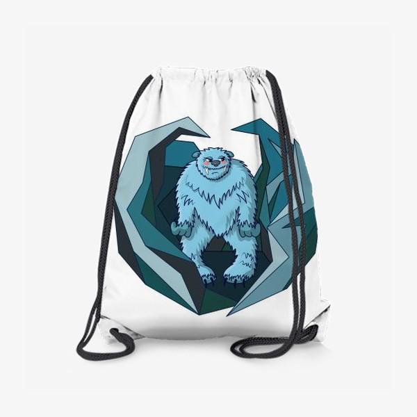 Рюкзак «Скромный йети во льдах»