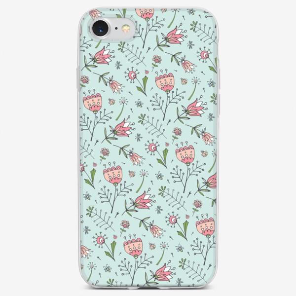 Чехол iPhone «Полевые цветы»