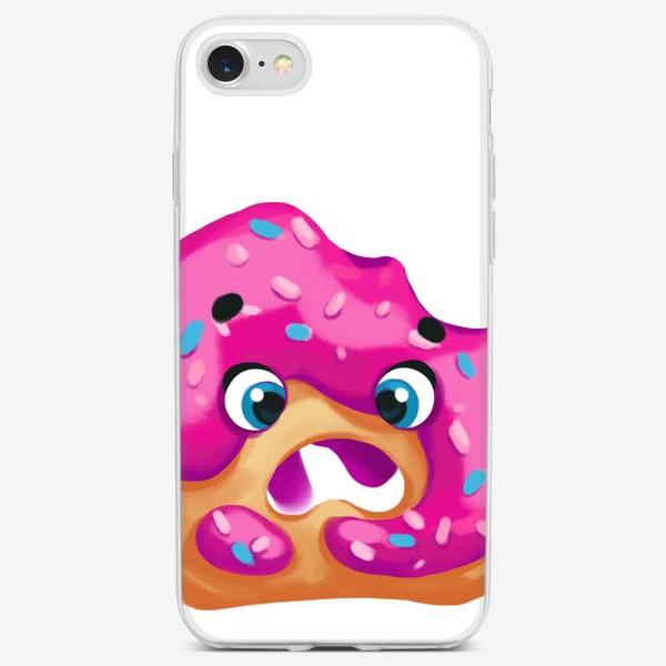 Чехол iPhone «donut»
