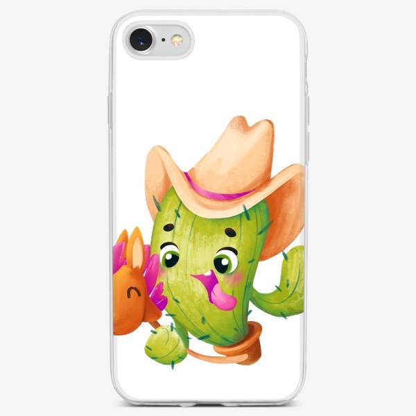 Чехол iPhone «cactus»