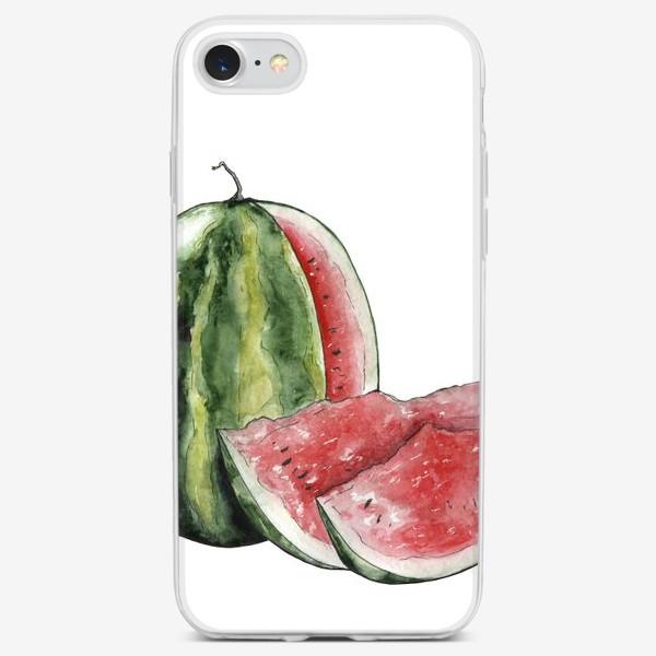 Чехол iPhone «Арбуз. Сочно!»