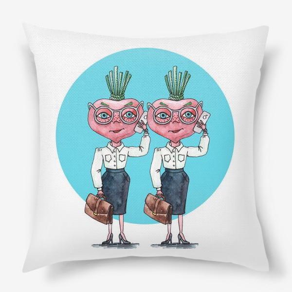 Подушка «редиски-близняшки»