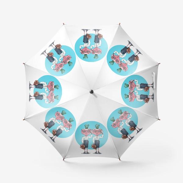 Зонт «редиски-близняшки»