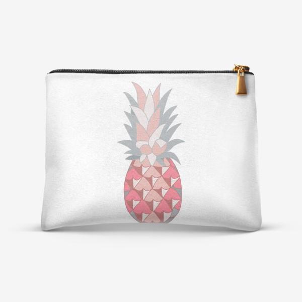 Косметичка «Розовый ананас»