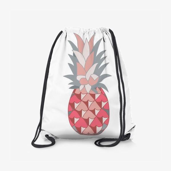 Рюкзак «Розовый ананас»
