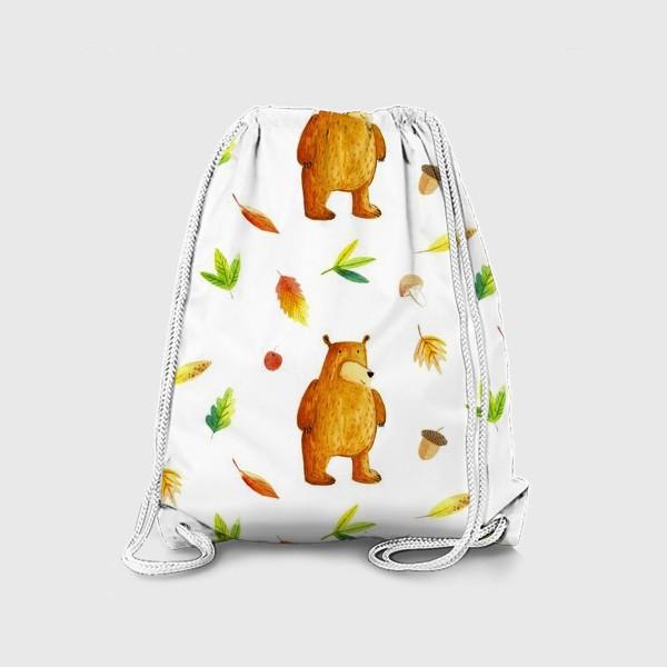 Рюкзак «Осенний медведь»