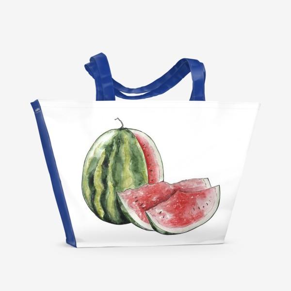 Пляжная сумка «Арбуз. Сочно!»