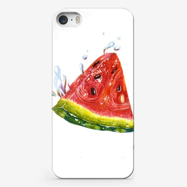Чехол iPhone «Лето. Арбуз»