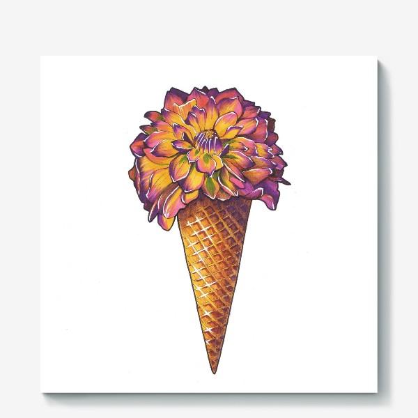 Холст «Летнее мороженое»
