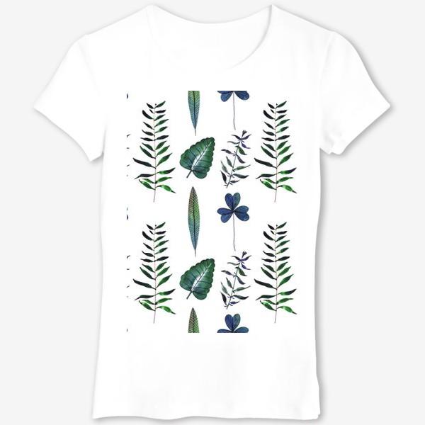 Футболка «Ботаника: Листья»