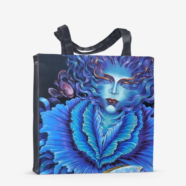 Сумка-шоппер «портрет медузы»