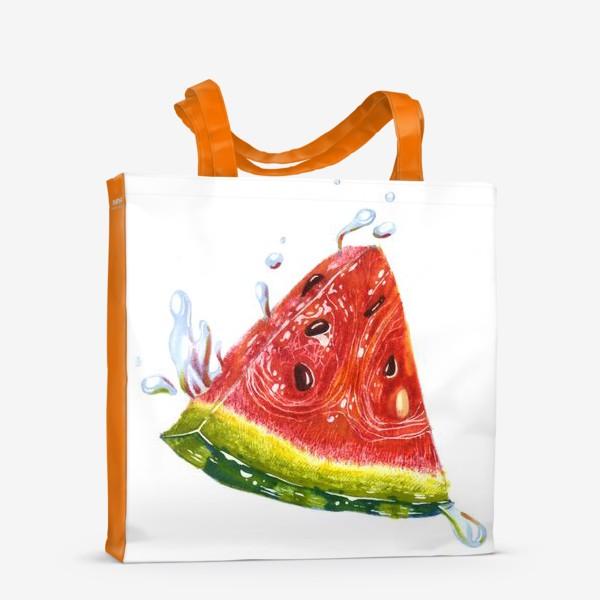 Сумка-шоппер «Лето. Арбуз»