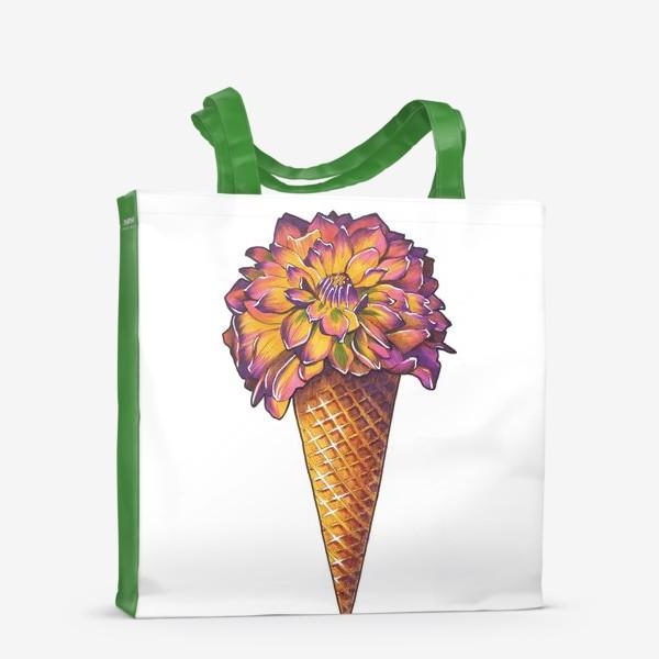 Сумка-шоппер «Летнее мороженое»