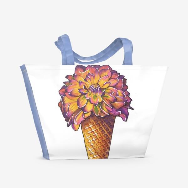 Пляжная сумка «Летнее мороженое»