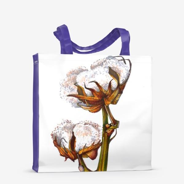 Сумка-шоппер «Хлопок Растение Рисунок»