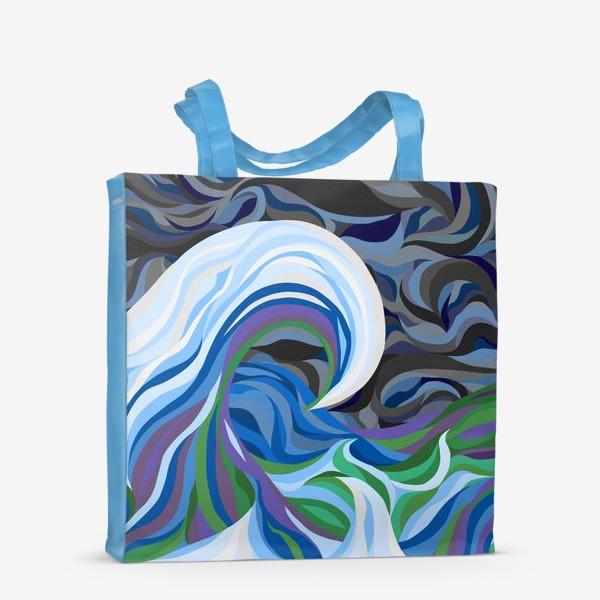 Сумка-шоппер «Штормовое море»