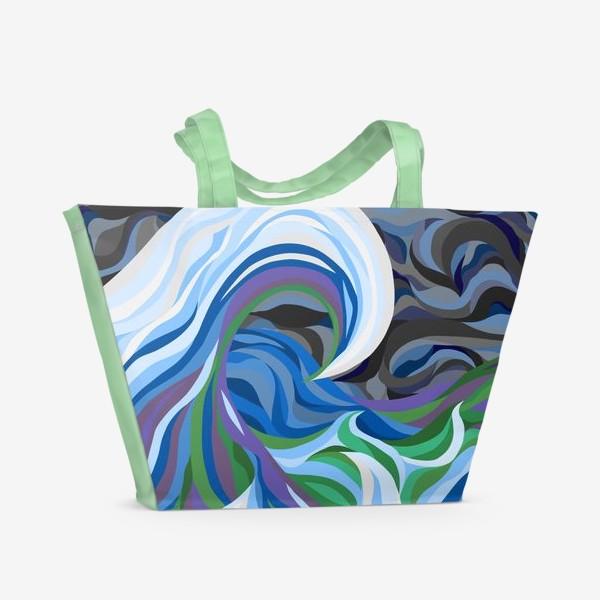 Пляжная сумка «Штормовое море»
