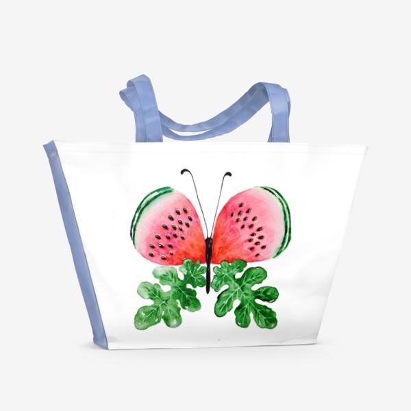 Пляжная сумка «Лето. Бабочка.»