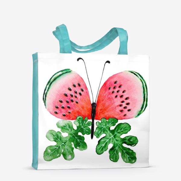 Сумка-шоппер «Лето. Бабочка.»