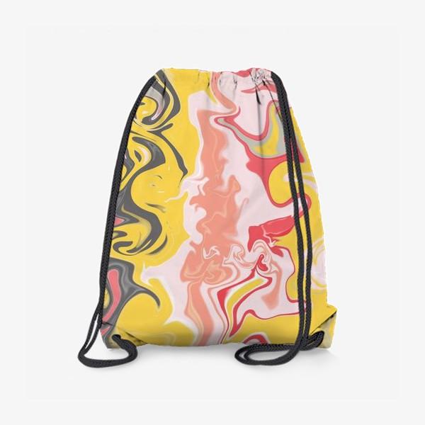 Рюкзак «Абстракция лава»