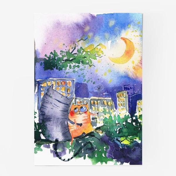 Постер «Теплая ночь»