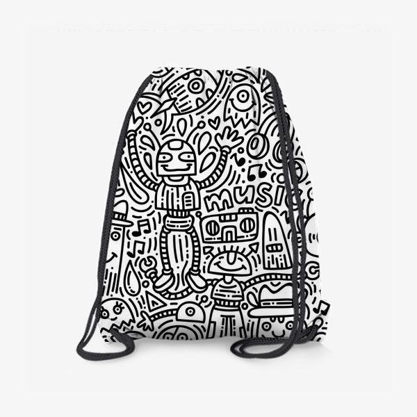 Рюкзак «Музыкальные дудлы»