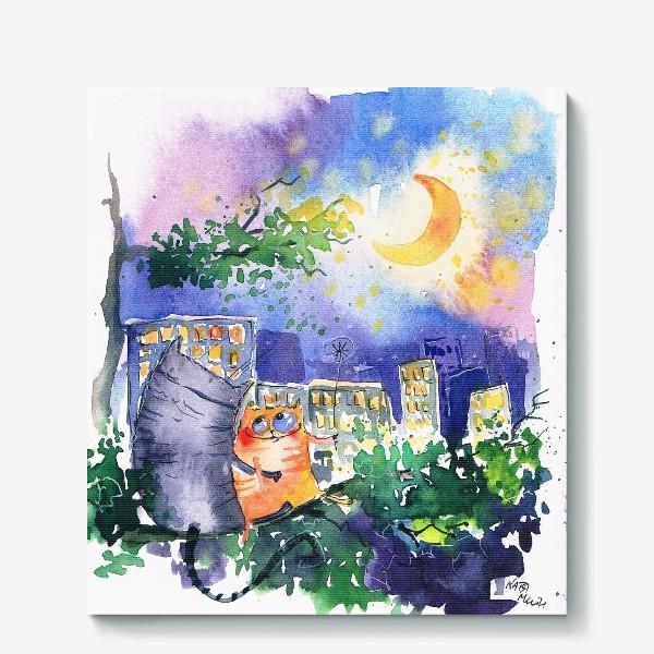 Холст «Теплая ночь»