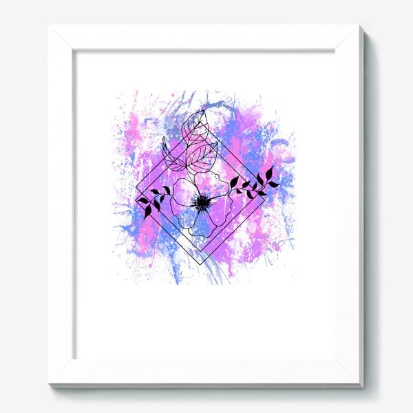 Картина «Брызги акварели»
