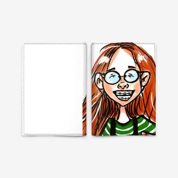 Обложка для паспорта «Счастливая девочка »