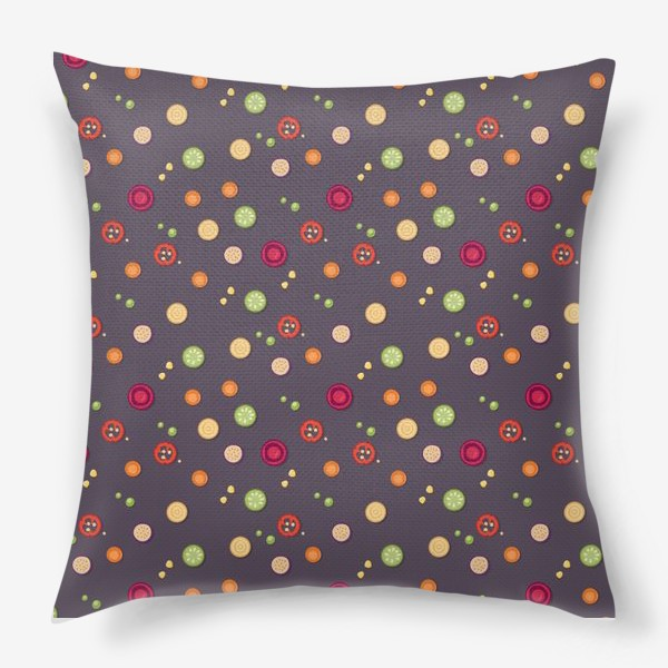 Подушка «vegetable pattern»