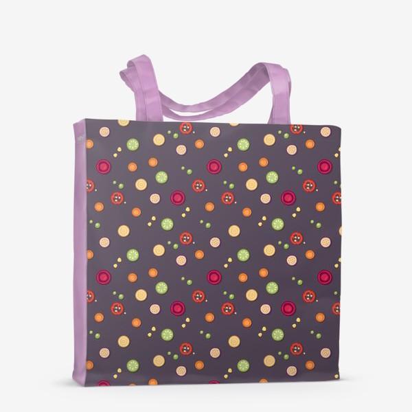 Сумка-шоппер «vegetable pattern»