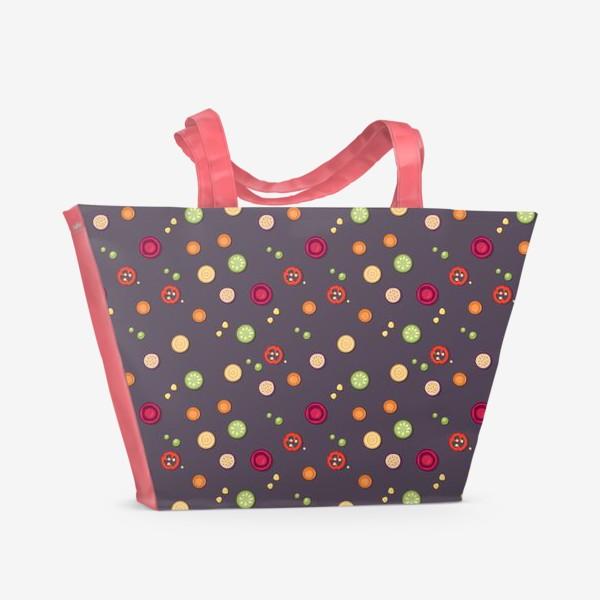 Пляжная сумка «vegetable pattern»