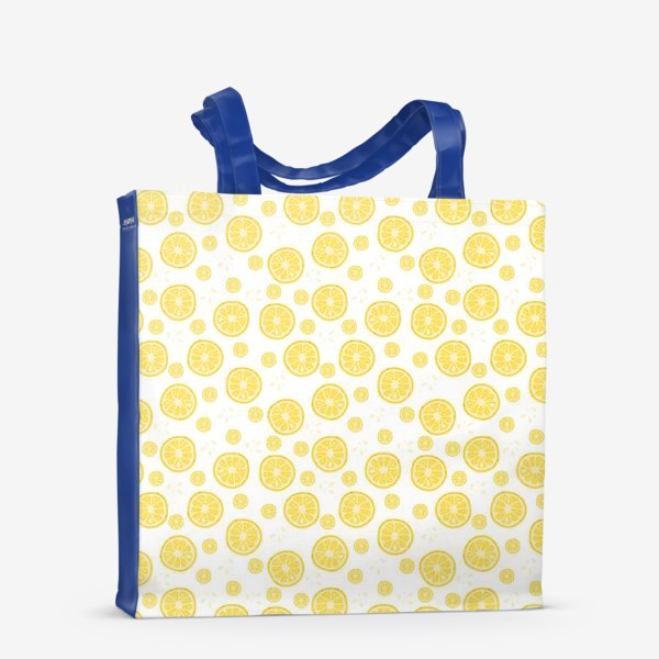 Сумка-шоппер «fruit pattern with lemons»