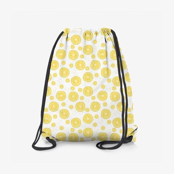 Рюкзак «fruit pattern with lemons»