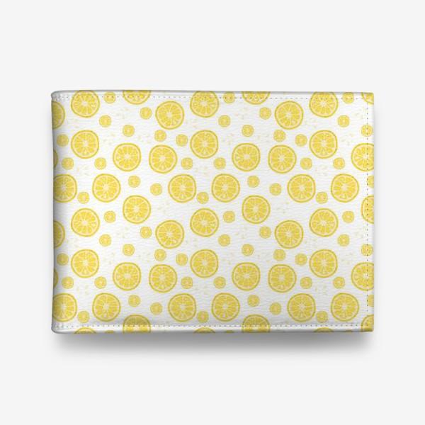 Кошелек «fruit pattern with lemons»