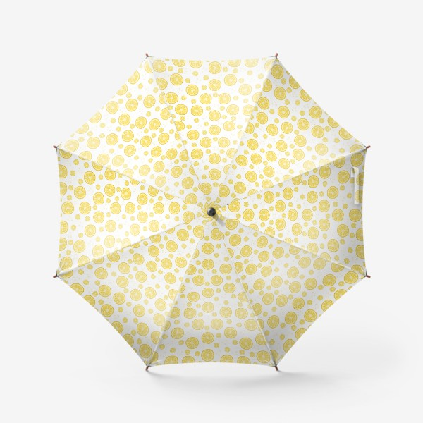 Зонт «fruit pattern with lemons»