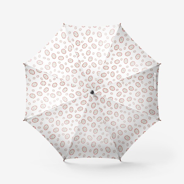 Зонт «fruit pattern with dragon fruits»