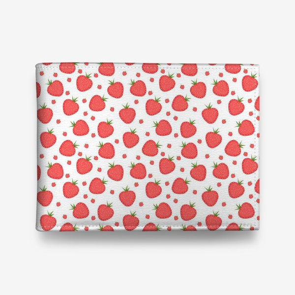 Кошелек «pattern with strawberries»