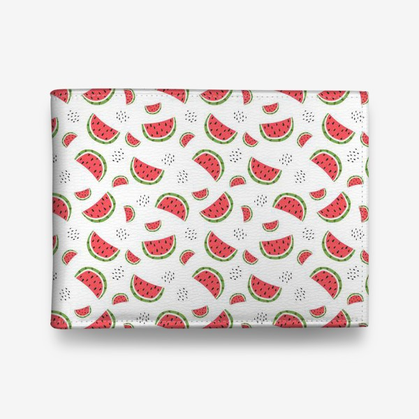 Кошелек «pattern with watermelons»