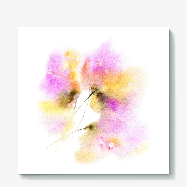 Холст «Весенние цветы»