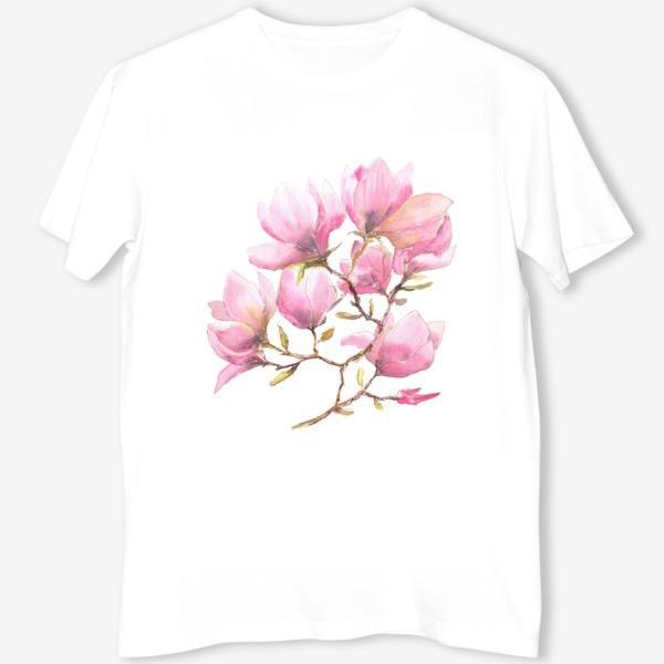 Футболка «Spring magnolias»