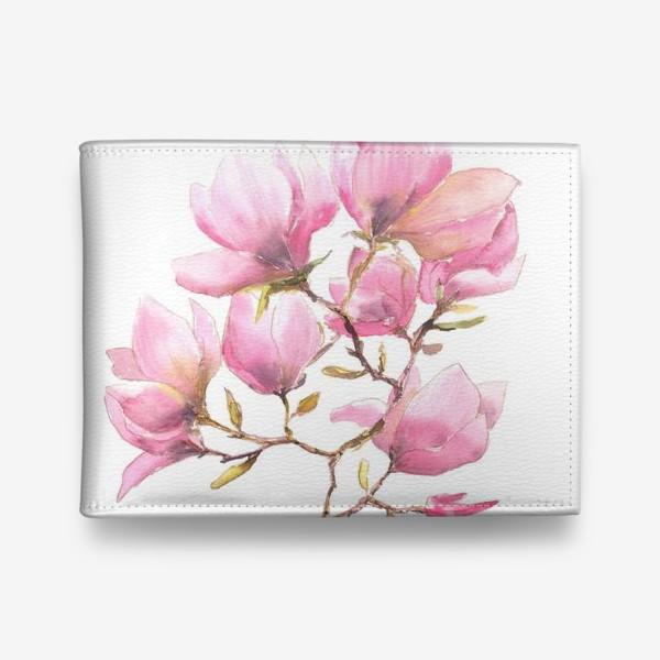 Кошелек «Spring magnolias»