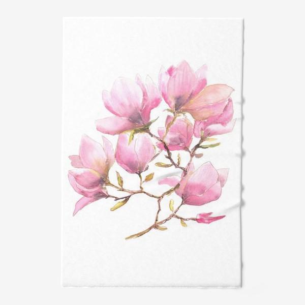 Полотенце «Spring magnolias»