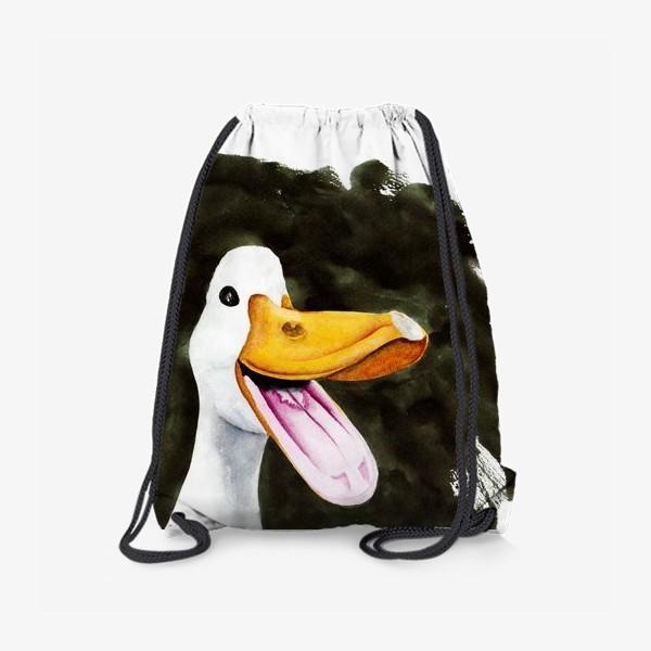 Рюкзак «Крякающая весёлая утка»
