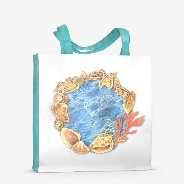 Сумка-шоппер «Ожерелье из ракушек»