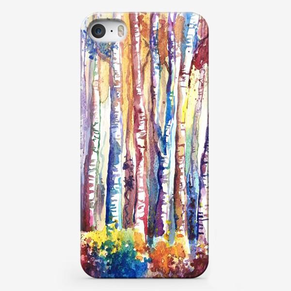 Чехол iPhone «цветная роща»